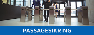 Passagesikring med speed gates